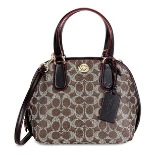 Coach Women's 35502-sv/p7 Satchel in Brown