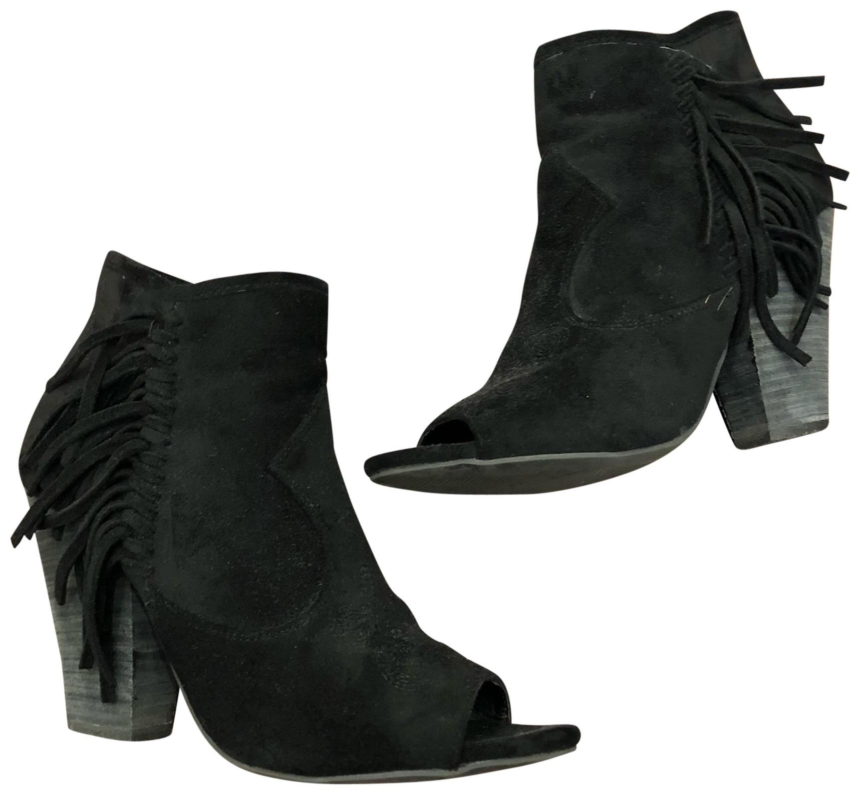 Coconuts Boots/Booties by Matisse Suede Peep Boots/Booties Coconuts Size US 7.5 Regular (M, B) e585d8