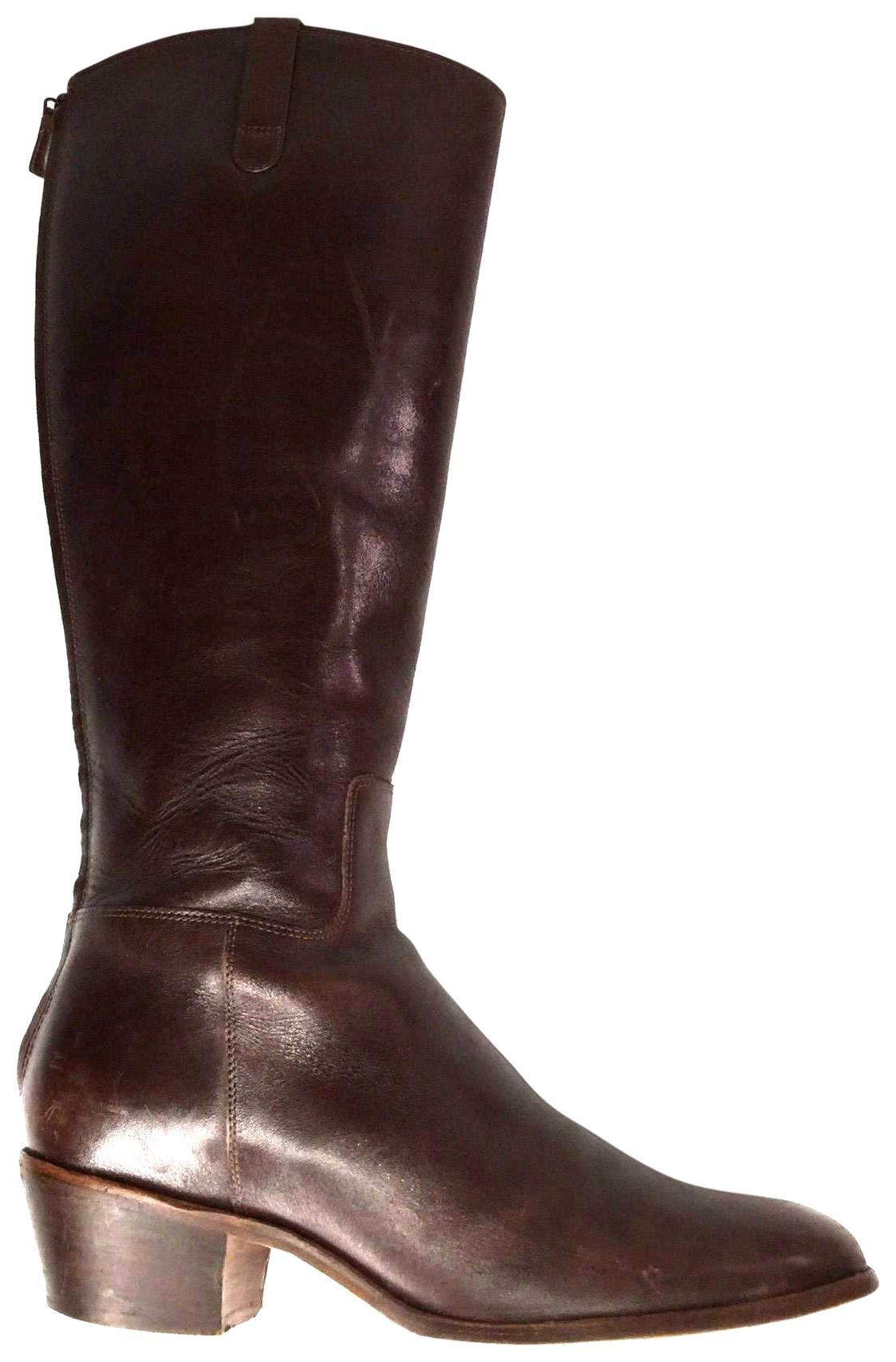 Cole Haan Brown Women's Zip Up Knee High Casual Boots/Booties Size US 8 Regular (M, B)