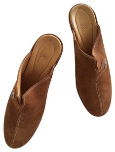 Cole Haan Classic Wedge Casual Amber Suede Mules