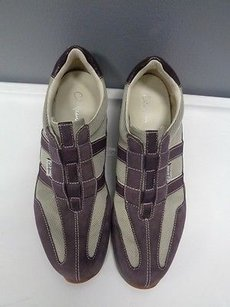 Cole Haan Purple And Tan Athletic