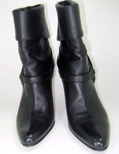 Cole Haan Nappa Leather Black Boots