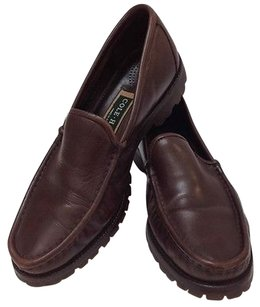 Cole Haan Loafers Moccasins Brown Flats