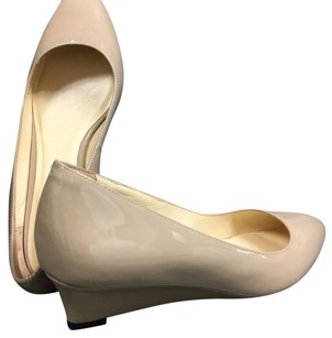 Cole Haan nude Wedges