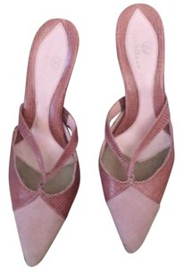 Cole Haan Pink Mules