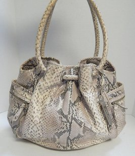 Cole Haan Village Snake Shoulder Bag