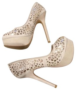 Colin Stuart Tan & Gold Platforms