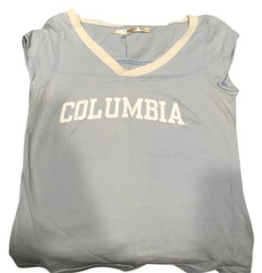 Colombia Sportswear Shirt Tank Columbia T Shirt Light blue