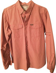 Columbia Mens Dress Shirt Button Down Shirt
