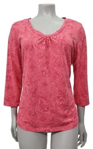 Columbia Sportswear Company Titanium Floral Print Top pink