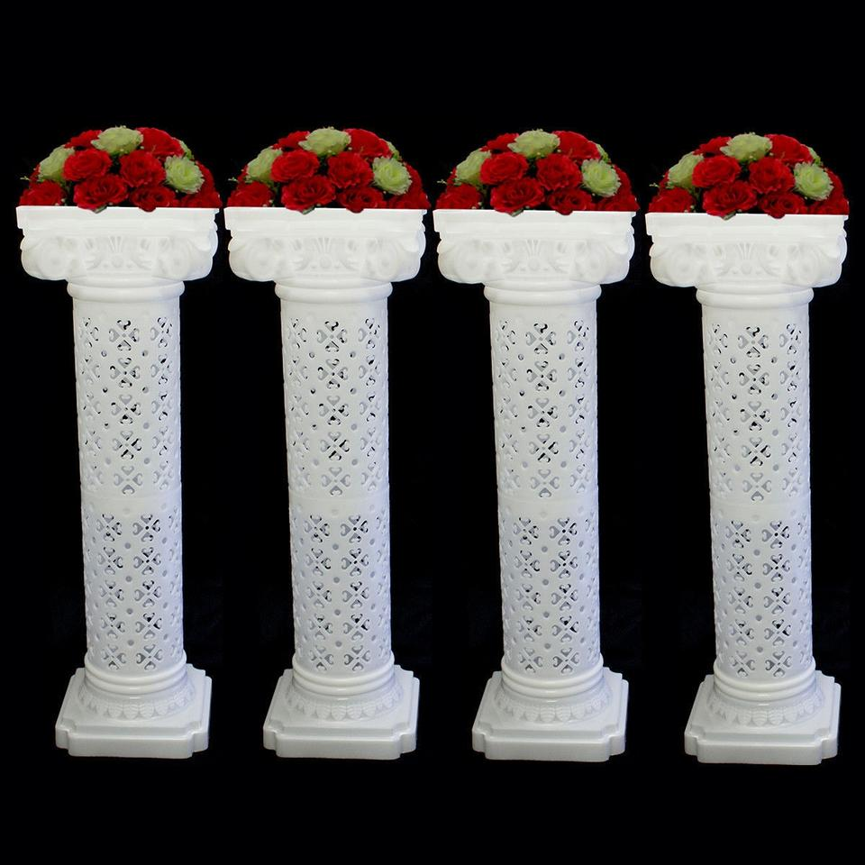 Columns Pedestals Lighted Wedding Columns Wedding Roman