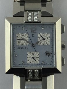 Concord CONCORD LA SCALA STAINLESS STEEL WATCH