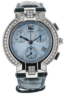Concord Ladies Concord LaScala Chronograph 14.C5.1891.S With Diamond Bezel & Dial Watch WTCLS