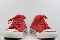 Converse All Star Womens Red Flats