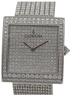 Corum Corum Buckingham 18k White Gold Diamonds 138.182.69