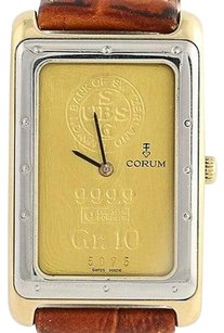 Corum Corum Gram Ingot Wristwatch - Stainless Steel 14k Gold 24k Ingot Quartz