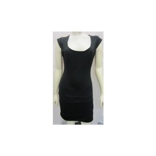 Costa Blanca Black Stretch Dress