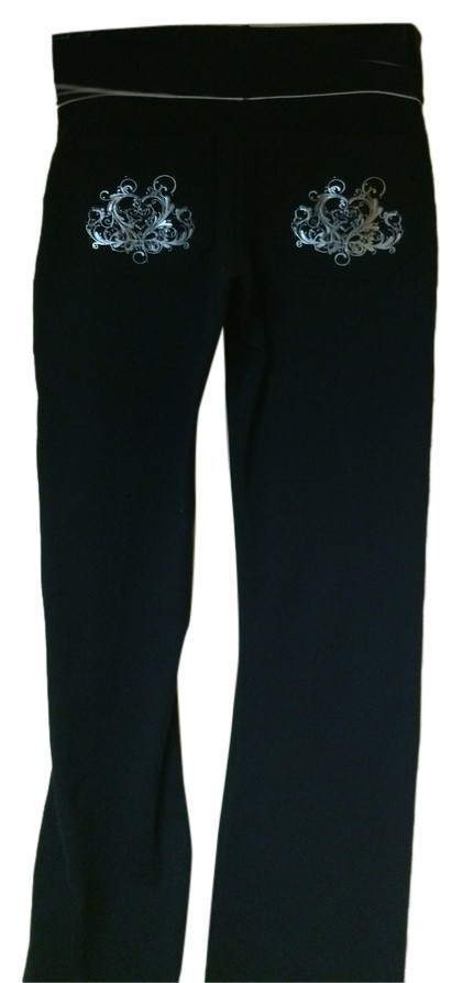Couture activewear boot cut pants
