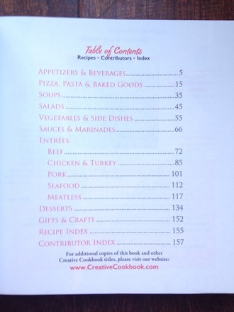Creative Cookbook Two cookbooks: Everyday Italian; Recipes, Gifts & Crafts for Special Occasions (Creative Cookbook Company)