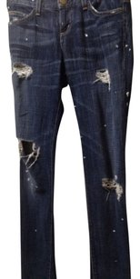 Current/Elliott Distressed Skinny Jeans