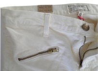 Current/Elliott Skinny Pants White Bone