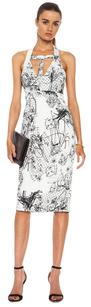 Cushnie et Ochs Scribble Dress