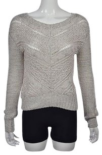 Cynthia Rowley Womens Beige Sweater
