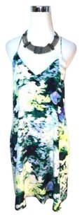 Cynthia Rowley short dress Multi-Color Silk Monet on Tradesy
