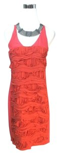 Cynthia Steffe Silk Ruffle Dress