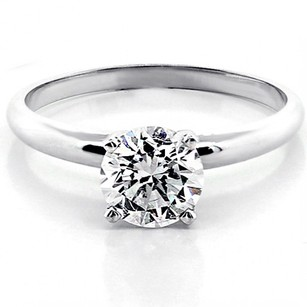 Engagement Ring Round Brilliant Cut Diamond 1.11 Cts