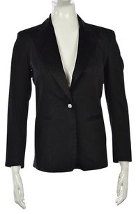 Dana Buchman Dana Buchman Petite Womens Black Blazer 2p Long Sleeve Career Jacket