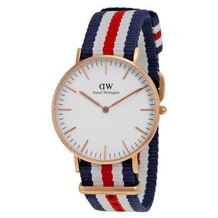 Daniel Wellington Classic Canterbury White Dial Tri-Color Ladies Watch 0502DW