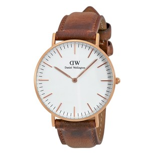 Daniel Wellington Durham White Dial Ladies Watch DW00100111