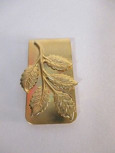 DANNIJO Dannijo Gold Joanna Laura Constantine Gold Leaf Money Clip