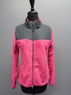 Danskin Now Hot Pink And Charcoal Jacket
