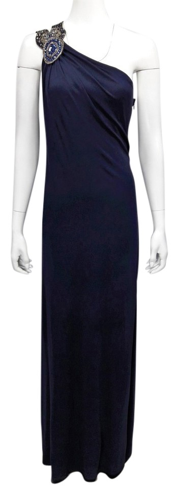 David Meister Navy Evening Gowns