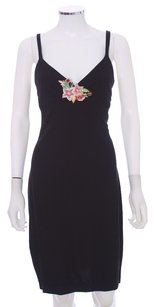 David Meister Rayon Slip Floral Lbd Dress
