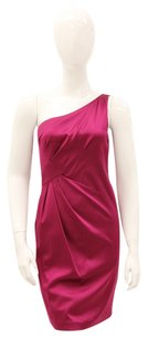 David Meister Silk One Date Night Pleated Dress