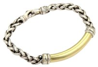 David Yurman 18k yellow gold bracelet