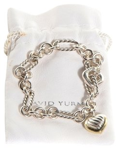 David Yurman DAVID YURMAN Sterling Silver 18k Yellow Gold Cable 429FB356