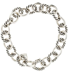 David Yurman Sterling silver David Yurman Medium Oval link bracelet