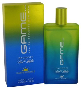 davidoff Cool Water Game Happy Summer By Davidoff Eau De Toilette Spray 3.4 Oz