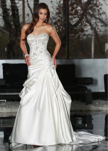DaVinci Bridal 50217 Wedding Dress
