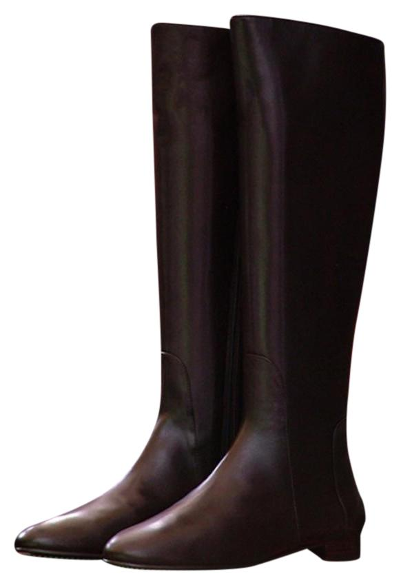 Delman Leather Knee-High Boots 2015 new cheap price clearance best place EJzSie