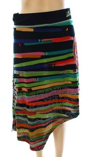 Desigual A-line New With Tags Rayon Skirt