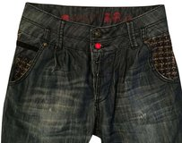 Desigual Relaxed Fit Jeans-Dark Rinse