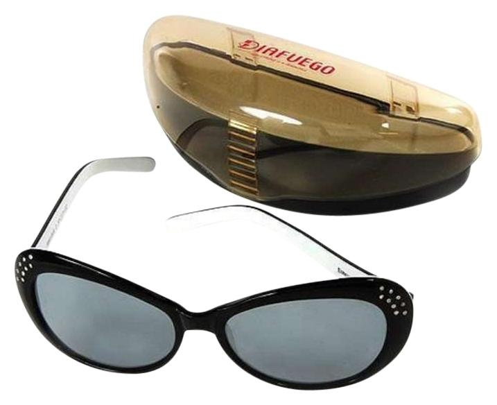 Black Designer with Natural Clean Diamonds Sunglasses ...