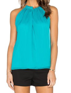 Diane von Furstenberg Halter New With Defects Top
