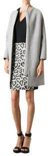 Diane von Furstenberg Pencil Animal Print Leopard Classic Print Skirt Grey, Black