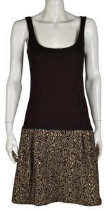 Diane von Furstenberg Womens Textured Sleeveless Casual Sheath Dress